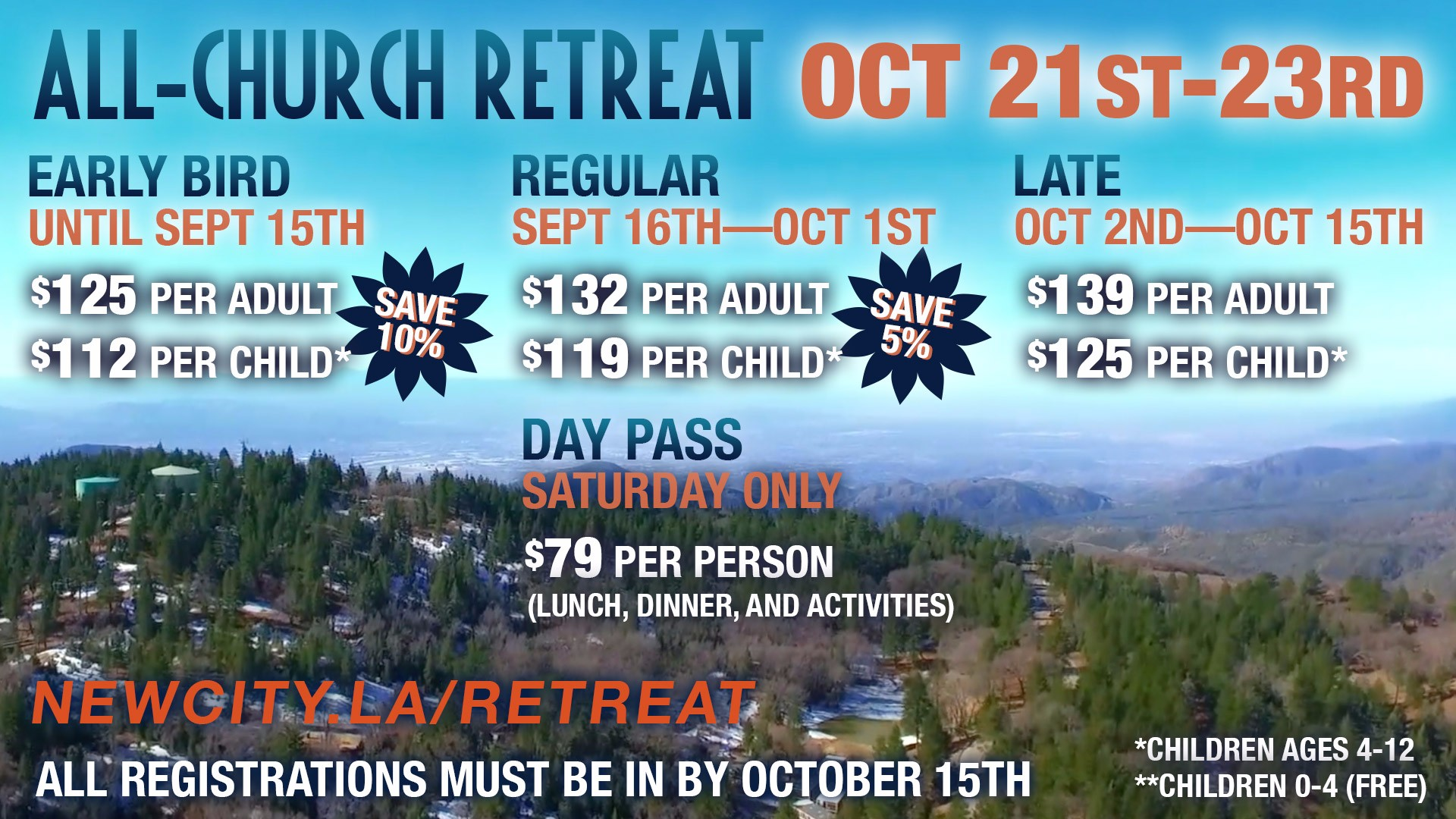 All-Church Retreat!
