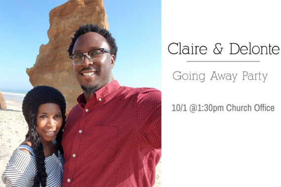 Claire & Delonte Going Away Party